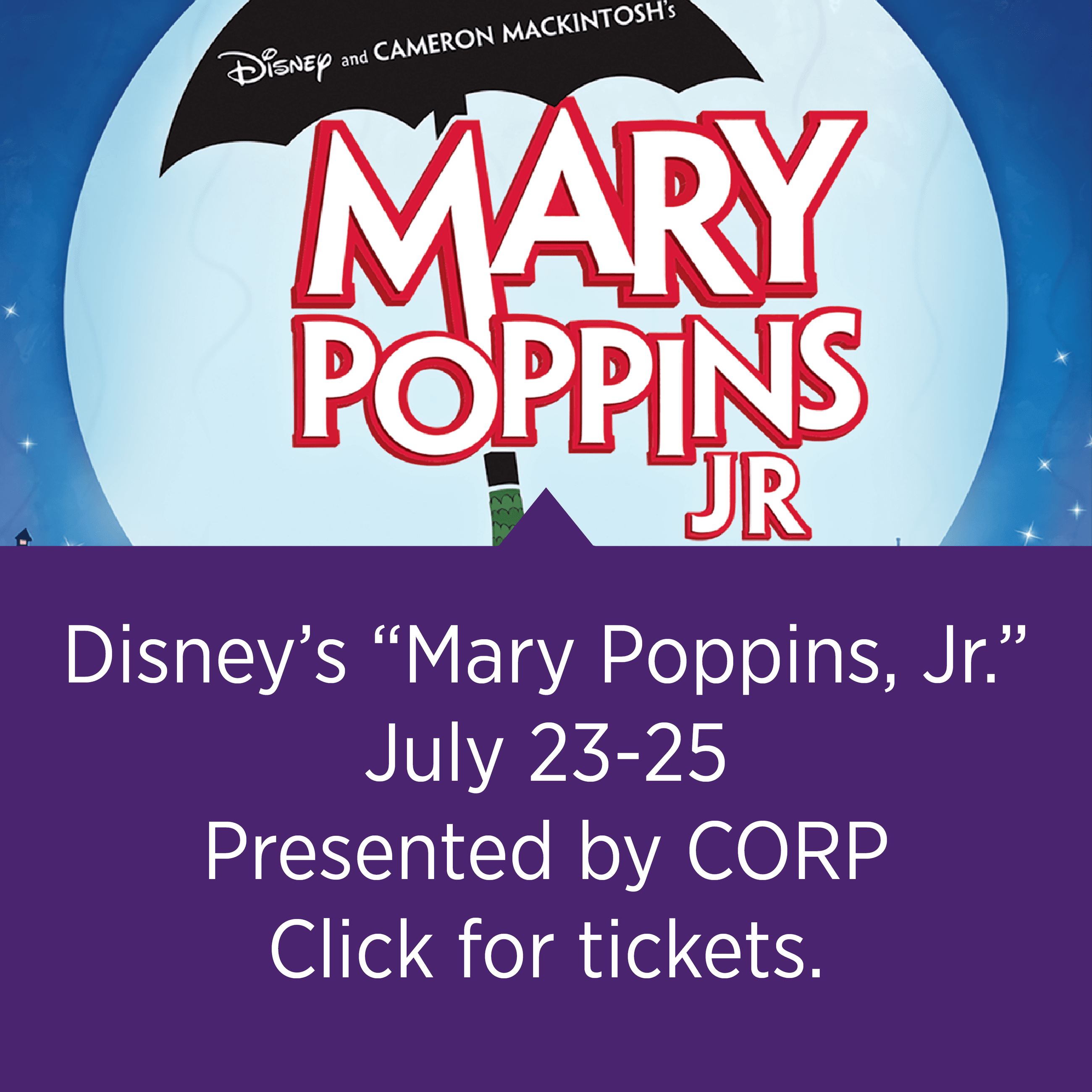 "Disney's ""Mary Poppins, Jr."""