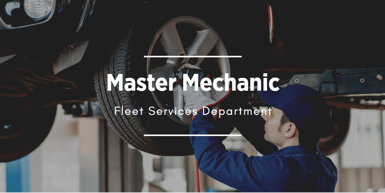 link to Master Mechanic Job posting