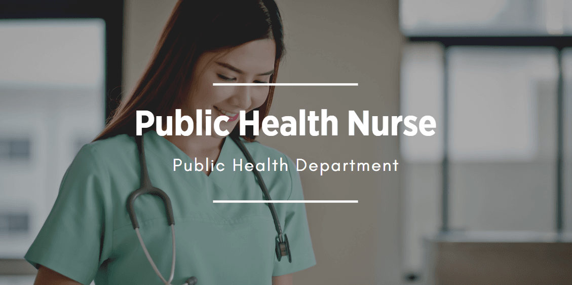 Nurse image that links to the Public Health Nurse position