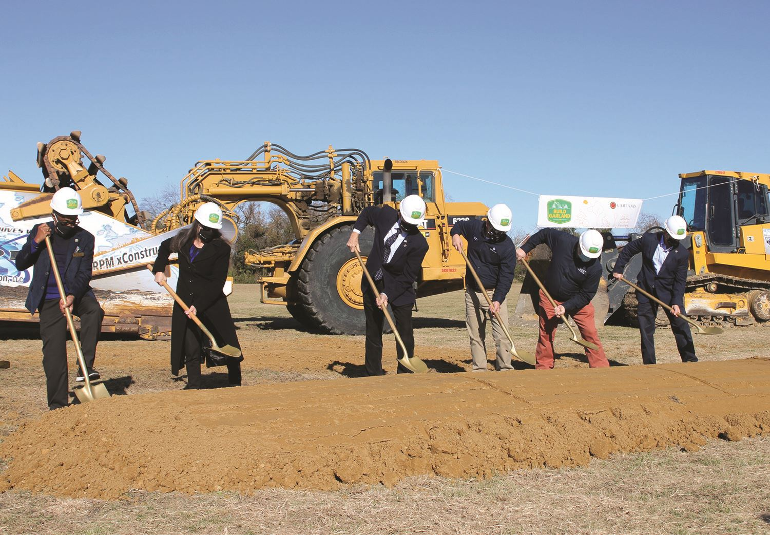 Animal Shelter Groundbreaking Ceremony